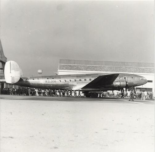 Aeroporto di Bresso: quadrimotore BZ 308