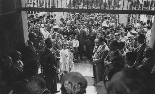 inaugurazione della scuola di via Lurani