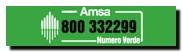 scritta amsa e numero verde 800332299