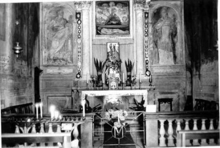 """Oratorio della Beata Vergine delle Grazie detto """"il Pilastrello""""- interno"""