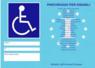 contrassegno sosta invalidi